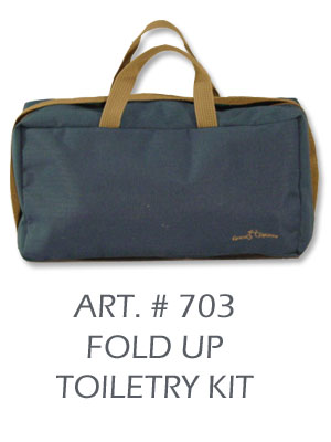 fold up toiletry kit